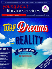 Young adult library services Vol.12 N.4, Summer 2014